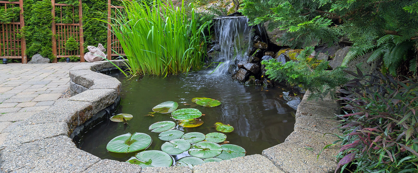 Pondless Waterfalls, Custom Ponds, Pond Maintenance, Stacked Urns and MORE!